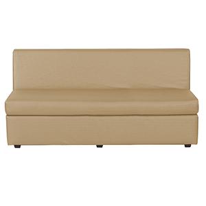 Luxe Gold Slipper Sofa Cover
