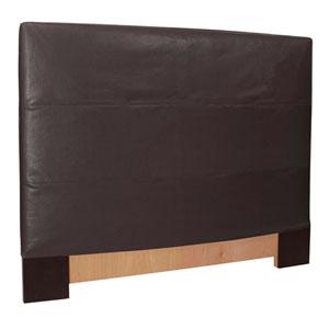 Black Twin Headboard Slipcover