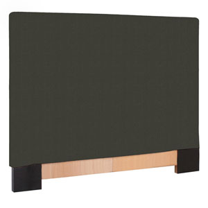 Sterling Charcoal 48-Inch Twin Headboard Slipcover