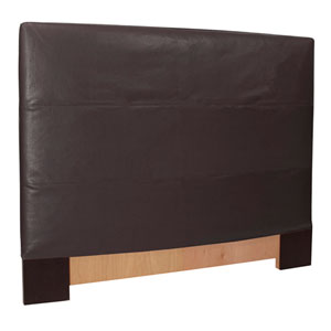 Black Full Queen Headboard Slipcover