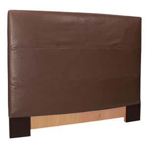 Avanti Pecan King Headboard Slipcover