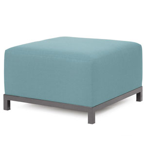 Axis Sterling Breeze Ottoman with Titanium Frame