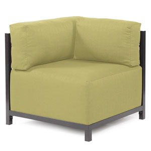 Axis Sterling Willow Corner Chair with Titanium Frame