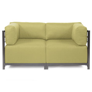 Axis Sterling Willow Sectional Sofa with Titanium Frame