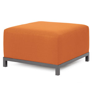 Axis Seascape Canyon Ottoman with Titanium Frame