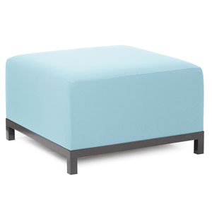 Axis Seascape Breeze Ottoman with Titanium Frame