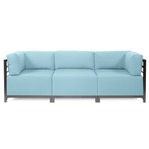 Axis 3-Piece Seascape Breeze Sectional with Titanium Frame