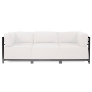 Axis 3-Piece Seascape Natural Sectional with Titanium Frame