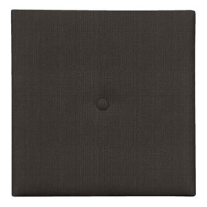 Sterling Charcoal 1-Inch Wall Pixel with Button