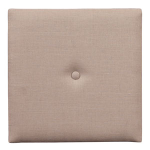 Prairie Linen Natural 1-Inch Wall Pixel with Button