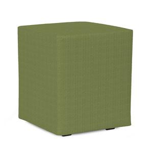 Universal Seascape Moss Cube Ottoman