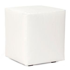 Atlantis White Universal Outdoor Cube Ottoman