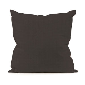 Seascape Charcoal 16 x 16-Inch Pillow