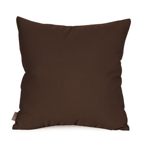 Seascape Chocolate 16 x 16-Inch Pillow