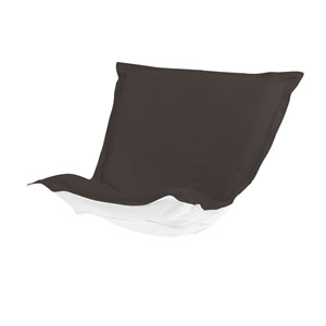 Puff Seascape Charcoal Chair Cushion