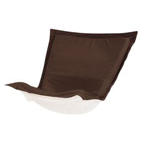 Puff Seascape Chocolate Chair Cushion