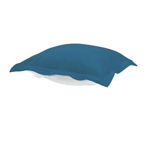 Puff Seascape Turquoise Ottoman Cushion