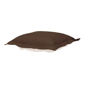 Puff Seascape Chocolate Ottoman Cushion