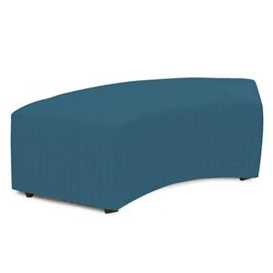Universal Seascape Turquoise Radius Bench