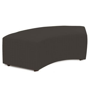 Universal Seascape Charcoal Radius Bench