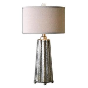 Sullivan Burnished Mercury One-Light Table Lamp