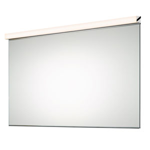 Vanity Polished Chrome LED Mirror Kit