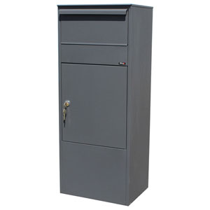 Allux Series Grey Mailboxes Allux 800 Mail/Parcel Box