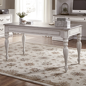Magnolia Manor Antique White 30-Inch Writing Desk