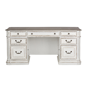 Magnolia Manor Antique White 31-Inch Desk