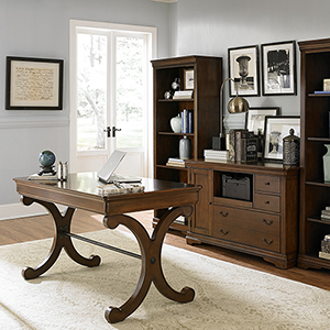 Brookview Rustic Cherry 31-Inch Writing Desk