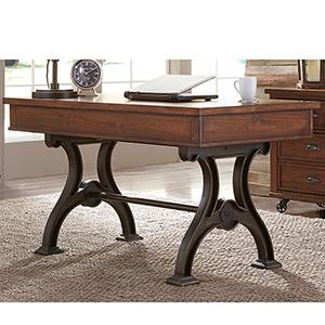 Arlington House Cobblestone Brown 31-Inch Writing Desk
