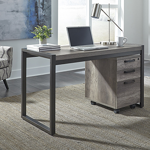 Tanner Creek Graystone 30-Inch Writing Desk
