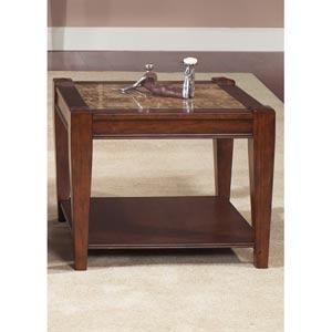 Parkhurst Cognac End Table