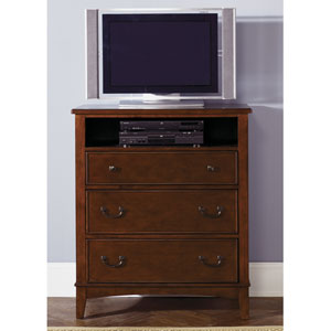 Chelsea Square Burnished Tobacco Three Drawer Chest