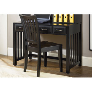 Hampton Bay Black Writing Desk
