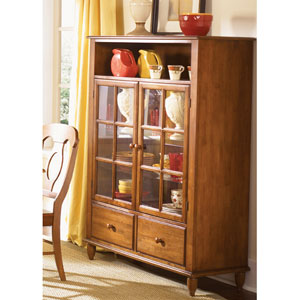 Low Country Suntan Bronze Curio Cabinet