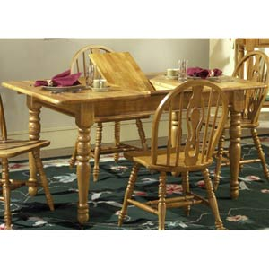 Country Haven Butterfly Leaf Leg Table