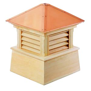 Manchester 26 x 32 Wood Cupola