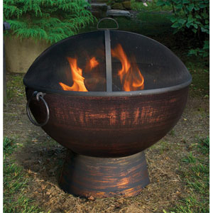 26 Inch Fire Bowl w/Spark Screen