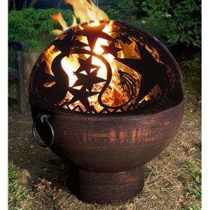 26 Inch Fire Bowl w/Orion Fire Dome