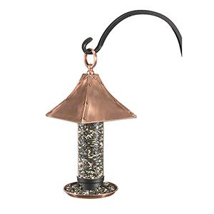 Palazzo Bird Feeder - Polished Copper