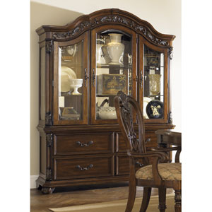 Messina Estates Cognac Buffet with Hutch