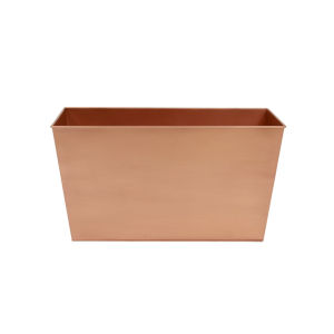 Copper Plated 22-Inch Flower Box