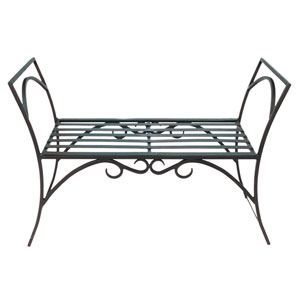 Arbor Wrought Iron Bench
