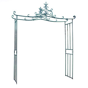 Chippendale Wrought Iron Arbor