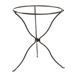 Tripod Wrought Iron Ring Stand