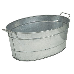 Standard Oval Steel Tub