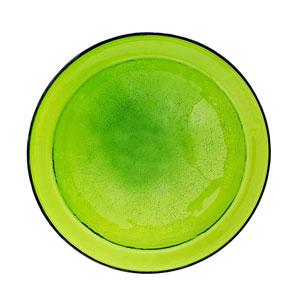 Crackle Bowl - Fern Green