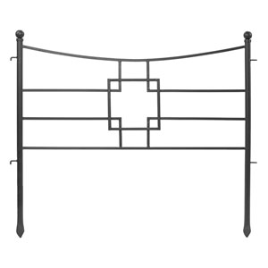 Square-on-Squares Fence Section