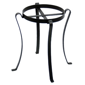 Wrought Iron Patio Flowerpot Stand